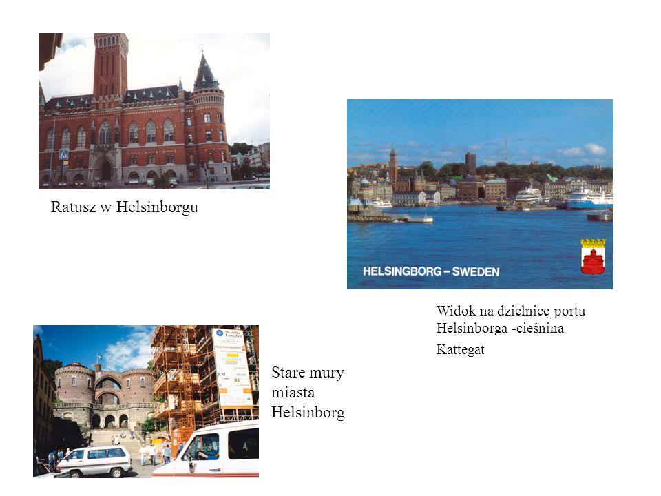 Stare mury miasta Helsinborg