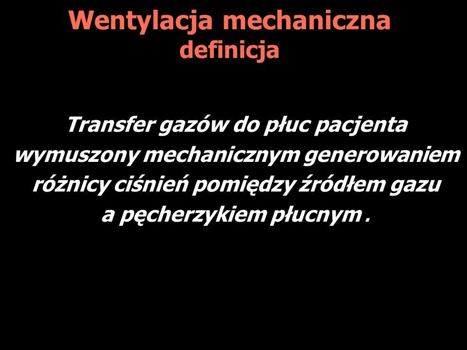 Wentylacja mechaniczna definicja