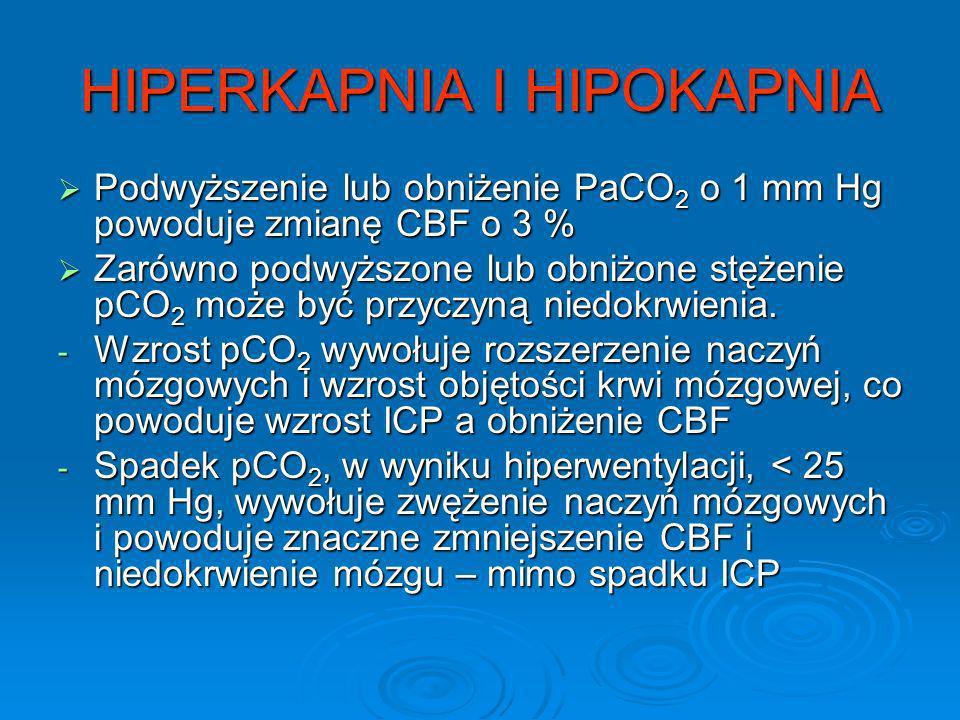 HIPERKAPNIA I HIPOKAPNIA
