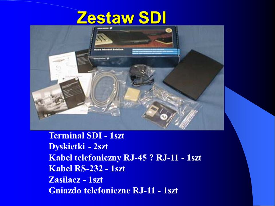 Zestaw SDI