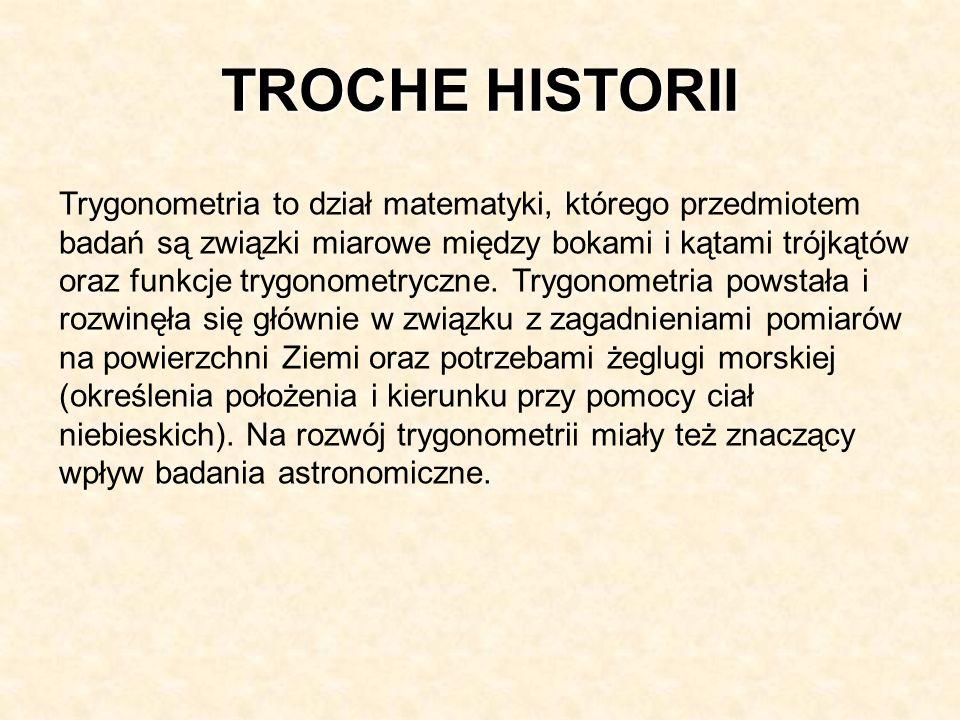 TROCHE HISTORII