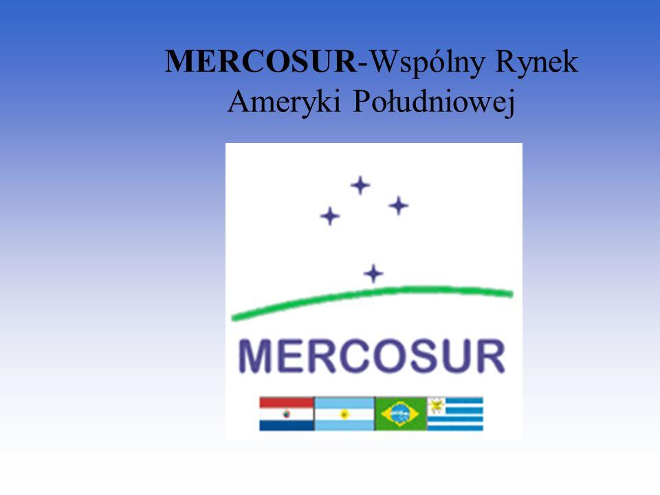 MERCOSUR-Wspólny Rynek Ameryki Południowej