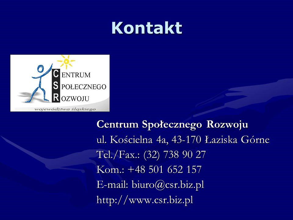 Kontakt Centrum Społecznego Rozwoju