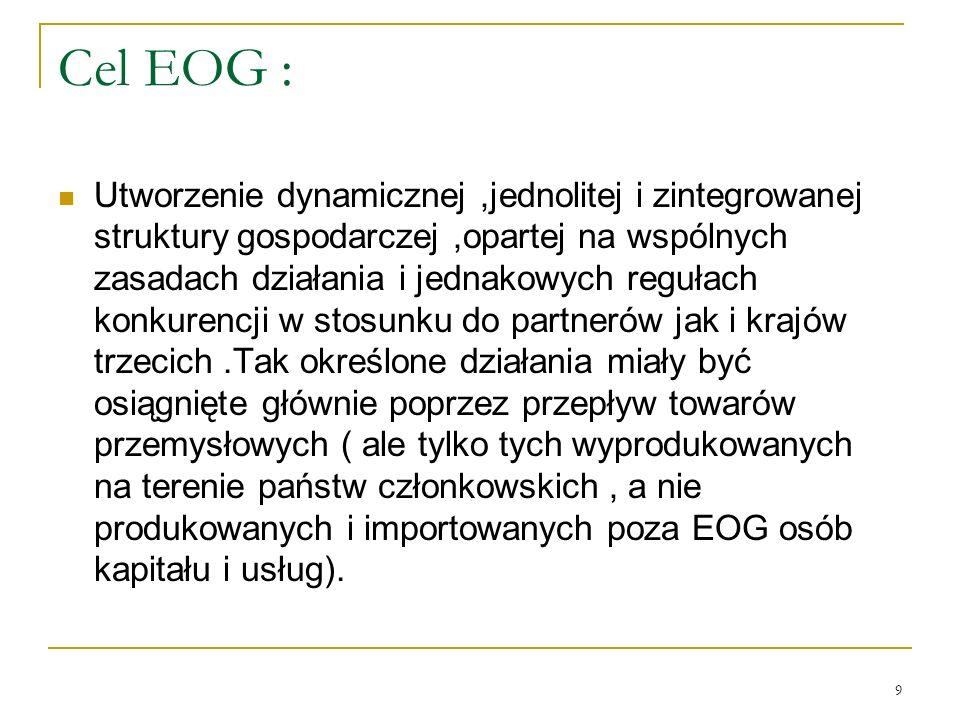 Cel EOG :