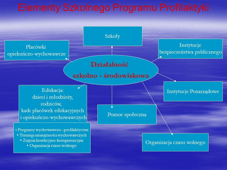 Elementy Szkolnego Programu Profilaktyki