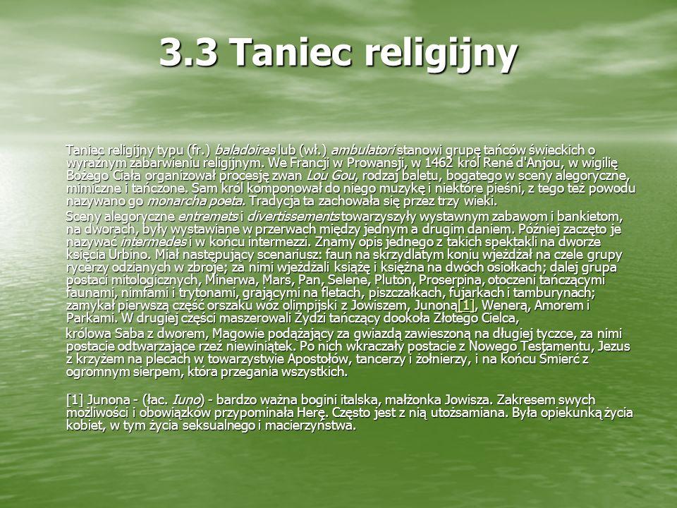 3.3 Taniec religijny