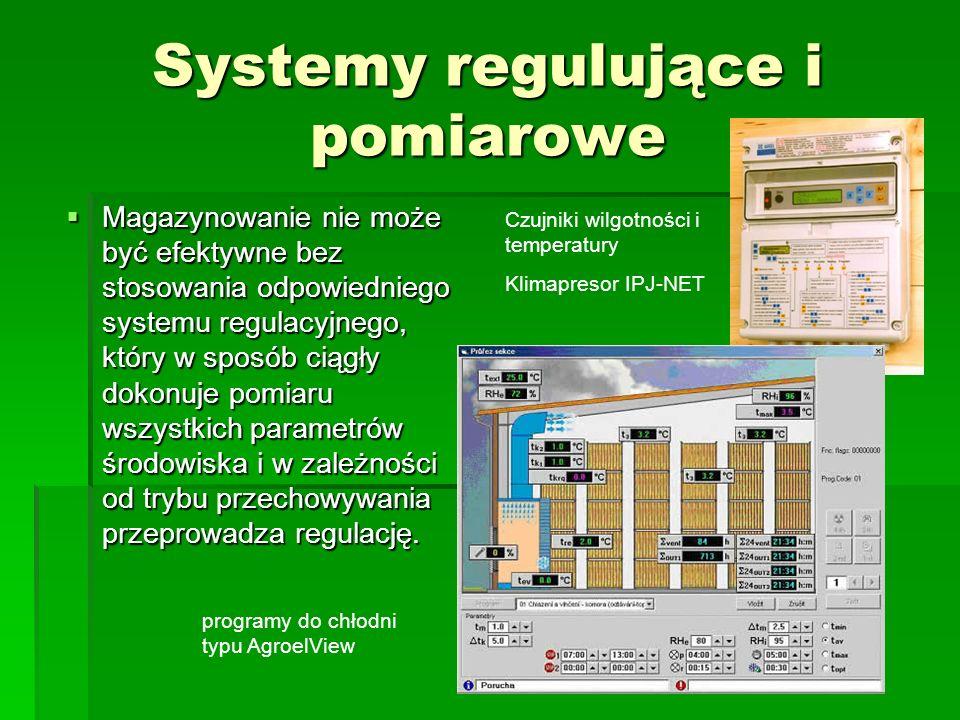 Systemy regulujące i pomiarowe