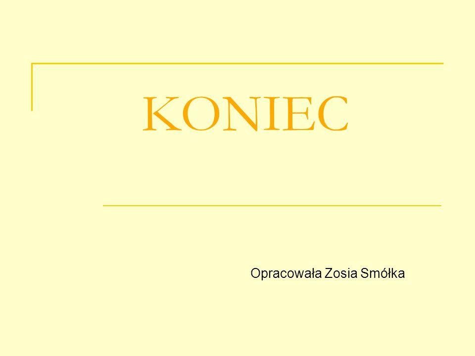 Opracowała Zosia Smółka