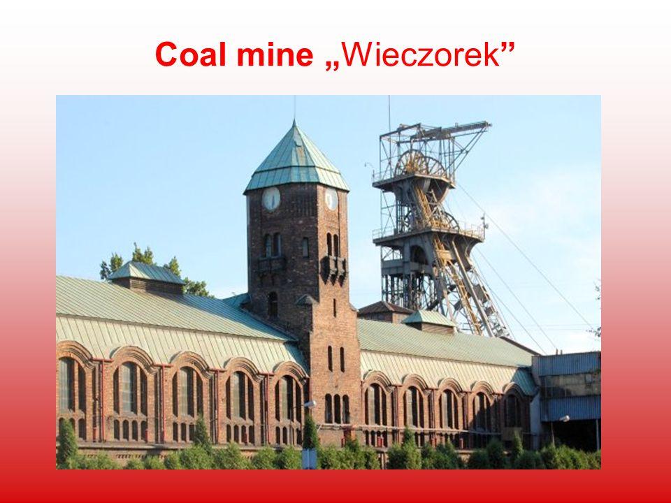 """Coal mine """"Wieczorek"""
