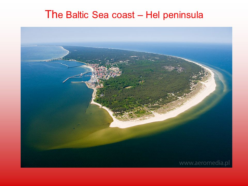 The Baltic Sea coast – Hel peninsula