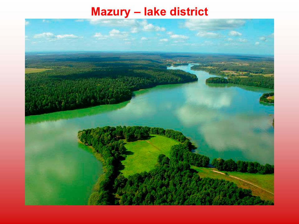 Mazury – lake district
