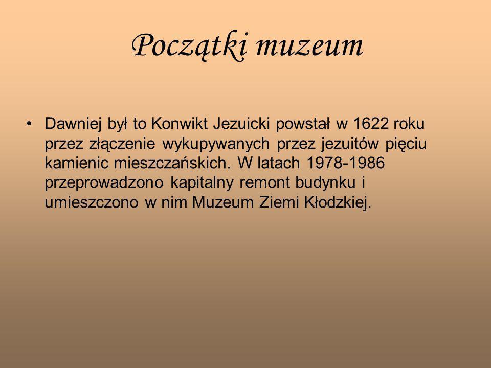 Początki muzeum