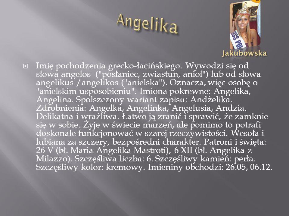 Angelika Jakubowska.