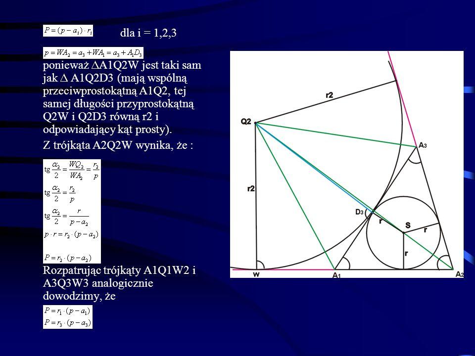 dla i = 1,2,3