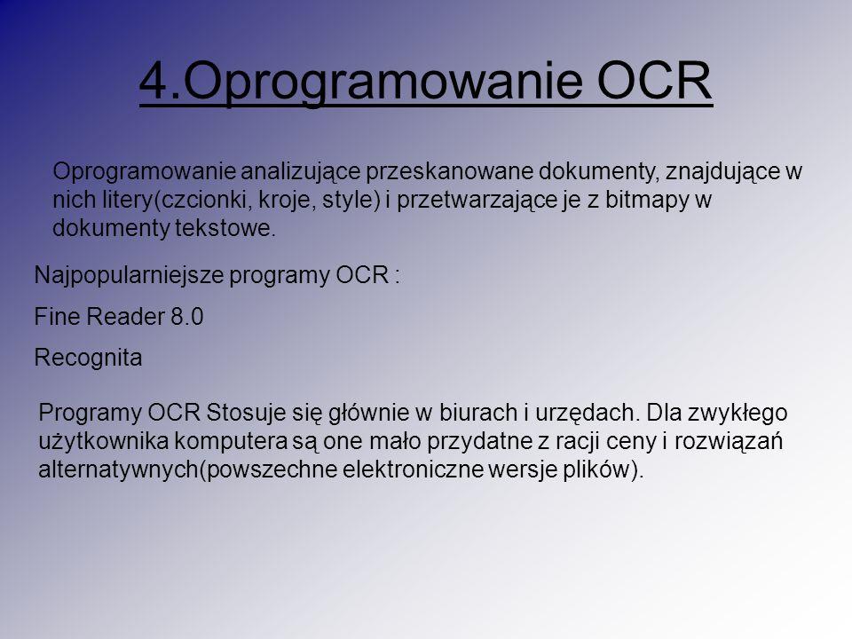 4.Oprogramowanie OCR