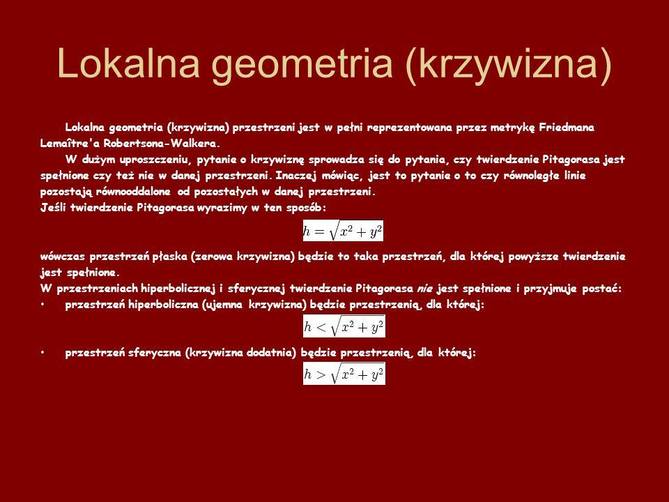 Lokalna geometria (krzywizna)