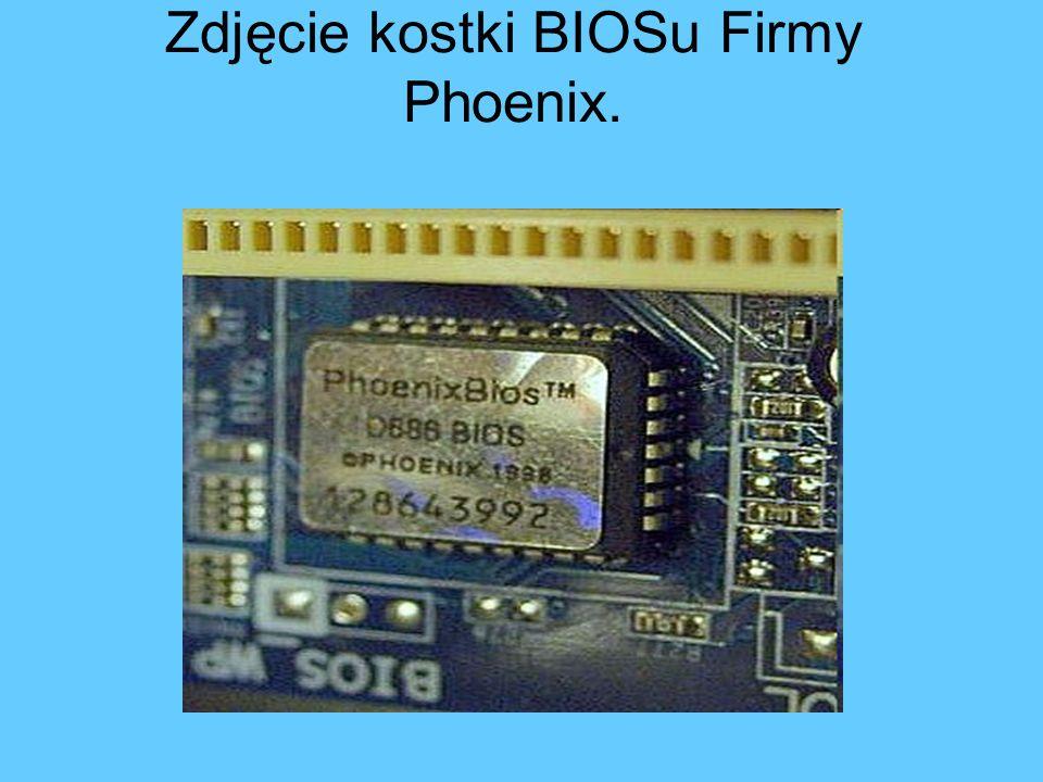 Zdjęcie kostki BIOSu Firmy Phoenix.