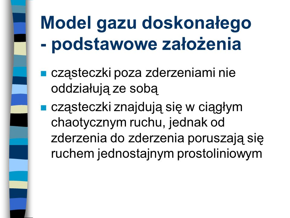 Model gazu doskonałego - podstawowe założenia