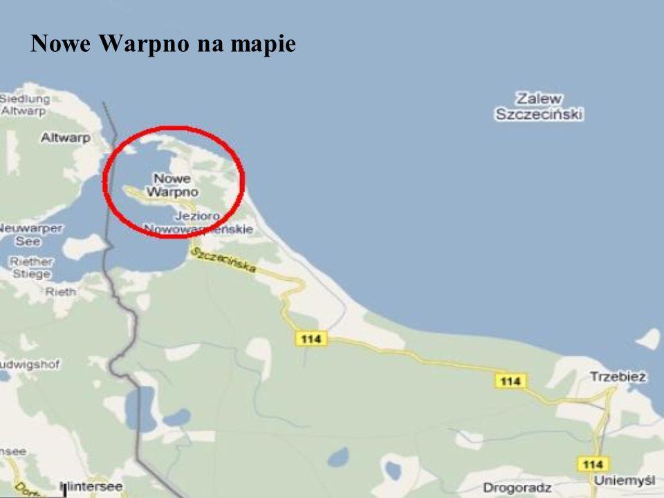 Nowe Warpno na mapie