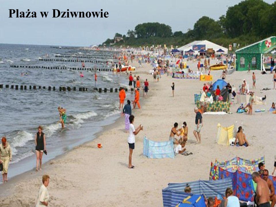 Plaża w Dziwnowie