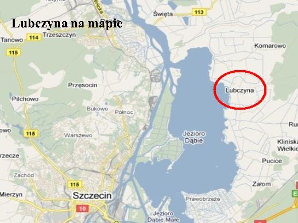 Lubczyna na mapie