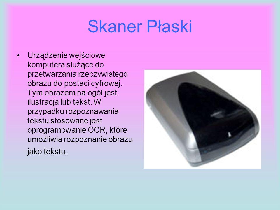 Skaner Płaski