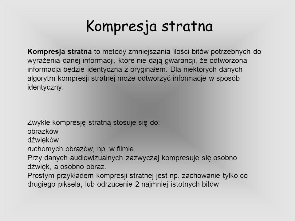 Kompresja stratna