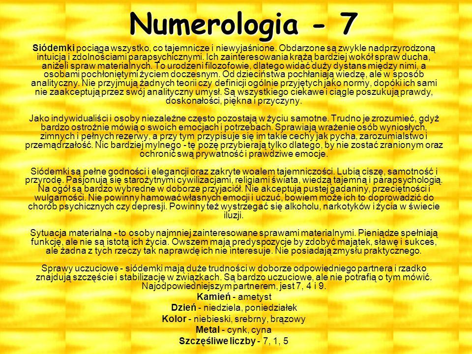 Numerologia - 7