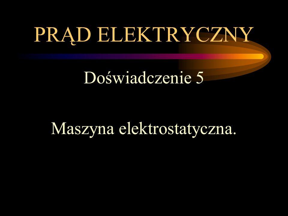 Maszyna elektrostatyczna.