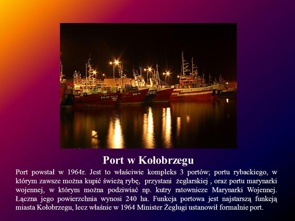 Port w Kołobrzegu