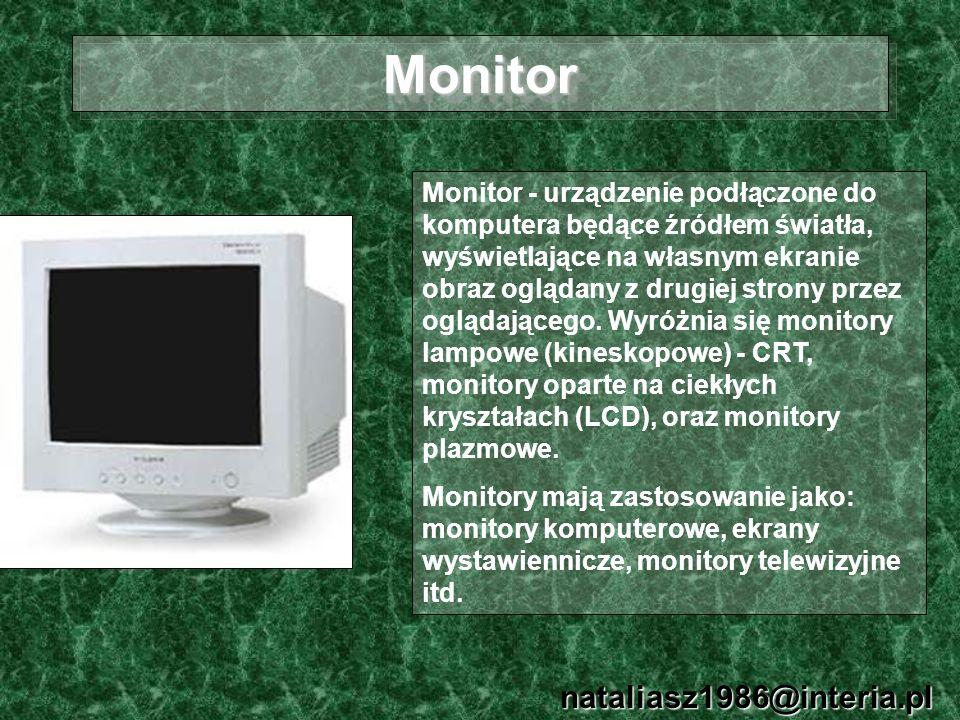 Monitor nataliasz1986@interia.pl