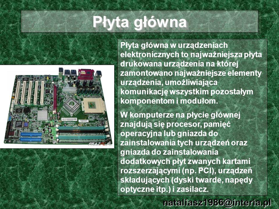 Płyta główna nataliasz1986@interia.pl