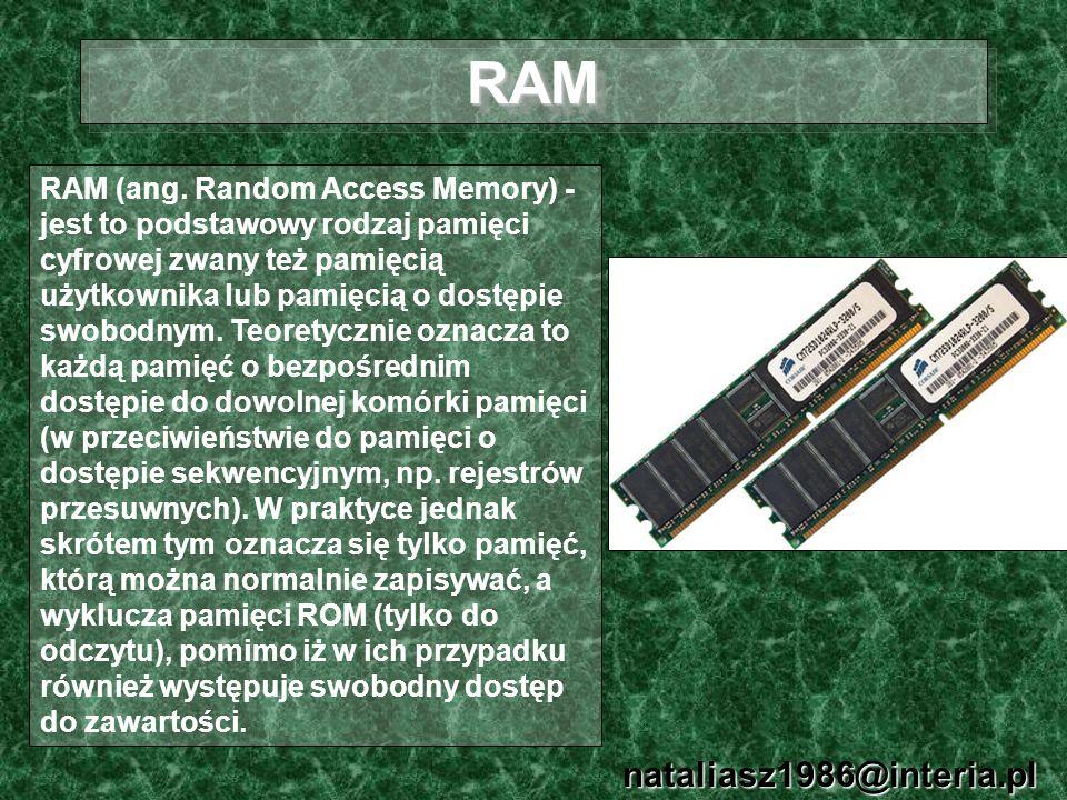 RAM nataliasz1986@interia.pl
