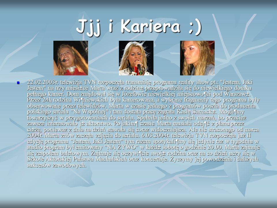 Jjj i Kariera ;)