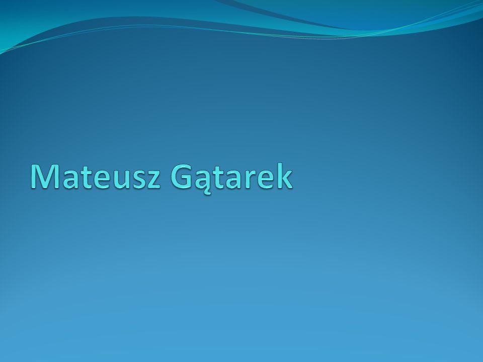Mateusz Gątarek