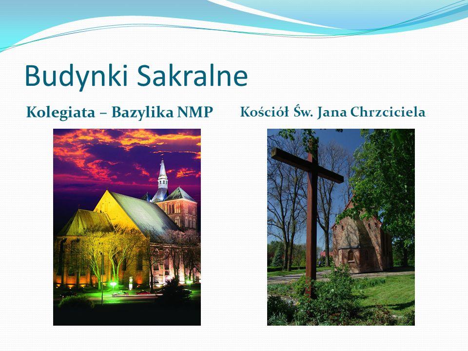 Budynki Sakralne Kolegiata – Bazylika NMP Kościół Św. Jana Chrzciciela
