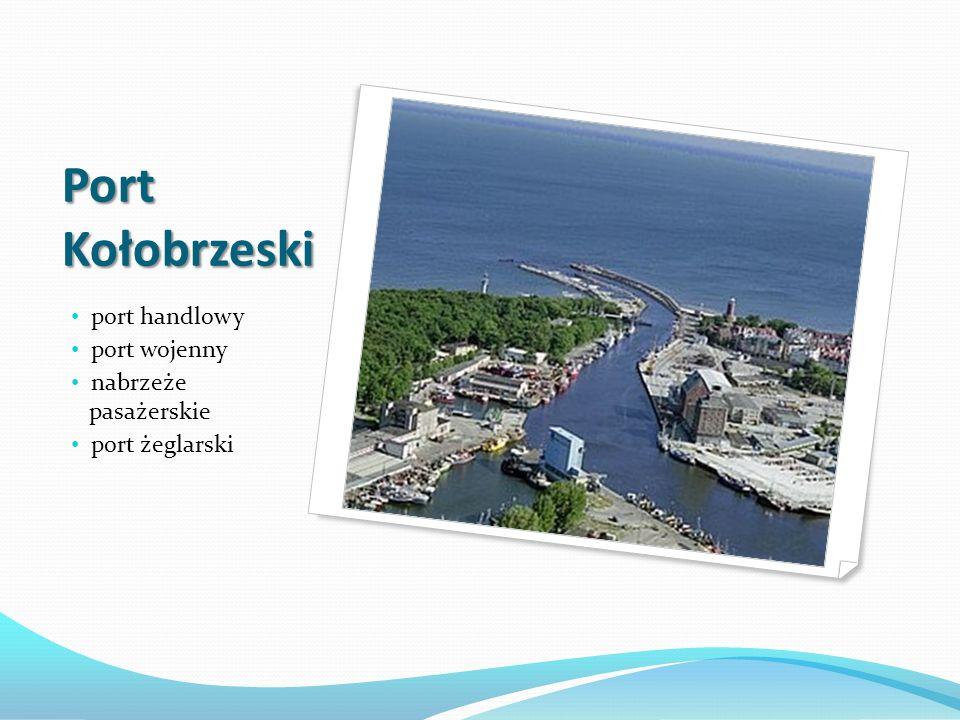 Port Kołobrzeski port handlowy port wojenny nabrzeże pasażerskie
