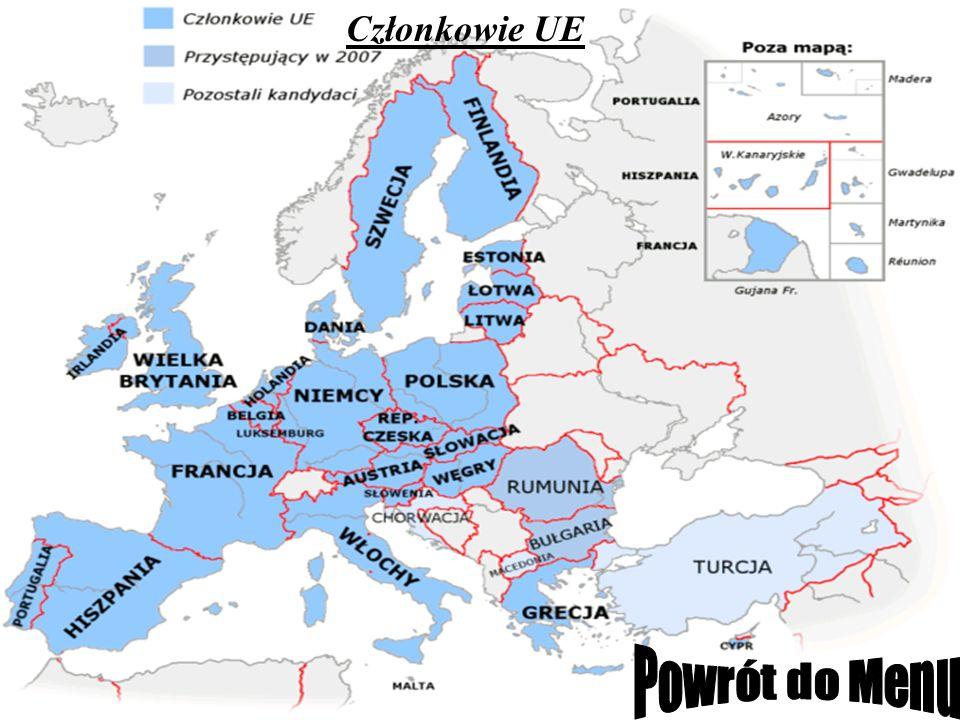 Członkowie UE Powrót do Menu