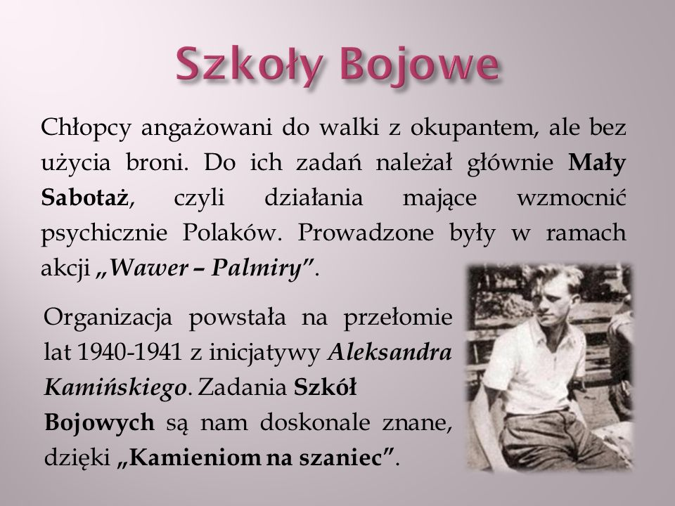 Szkoły Bojowe