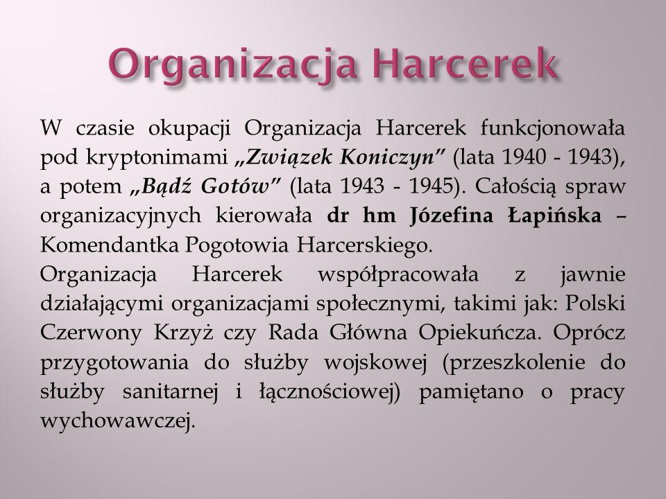 Organizacja Harcerek