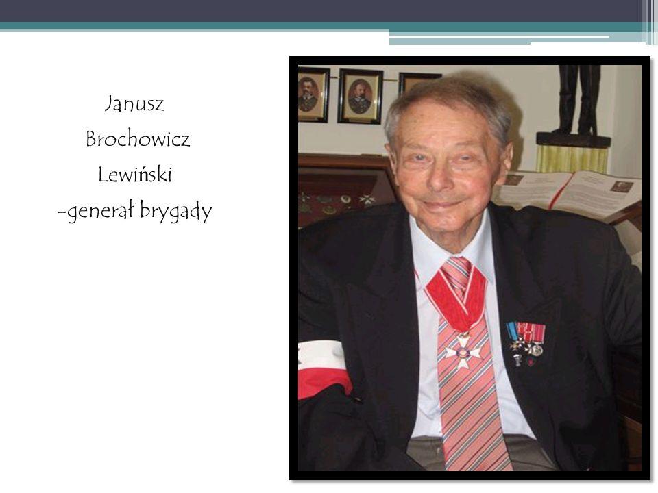 Janusz Brochowicz Lewiński -generał brygady