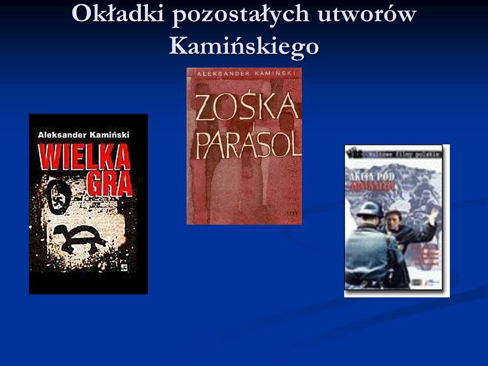 Okładki pozostałych utworów Kamińskiego