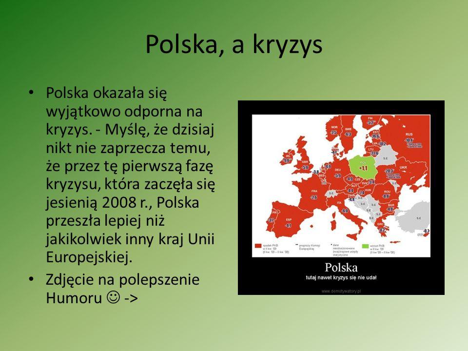Polska, a kryzys