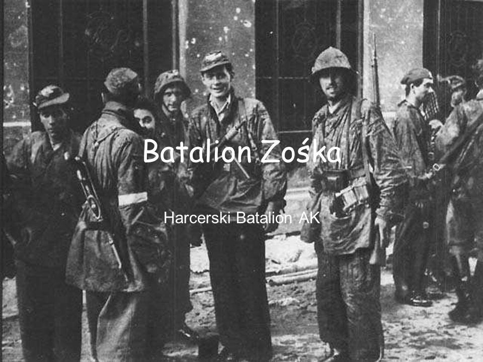 Batalion Zośka Harcerski Batalion AK