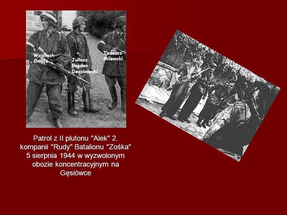 Tadeusz Milewski Wojciech Omyła. Juliusz Bogdan Deczkowski.