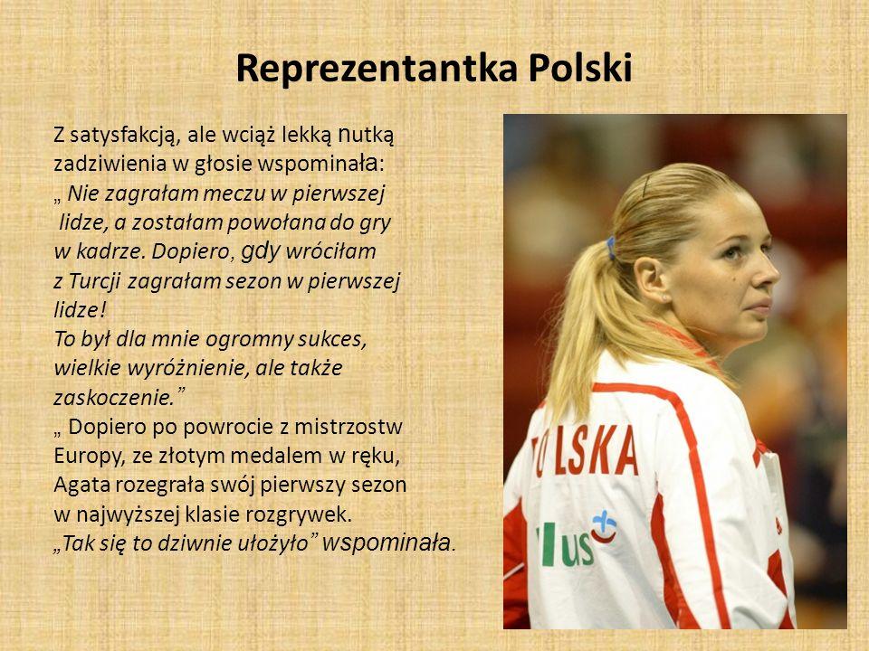 Reprezentantka Polski