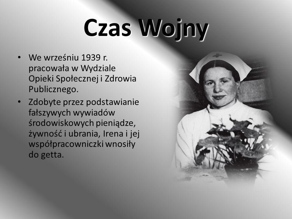 Czas Wojny We wrześniu 1939 r. pracowała w Wydziale Opieki Społecznej i Zdrowia Publicznego.