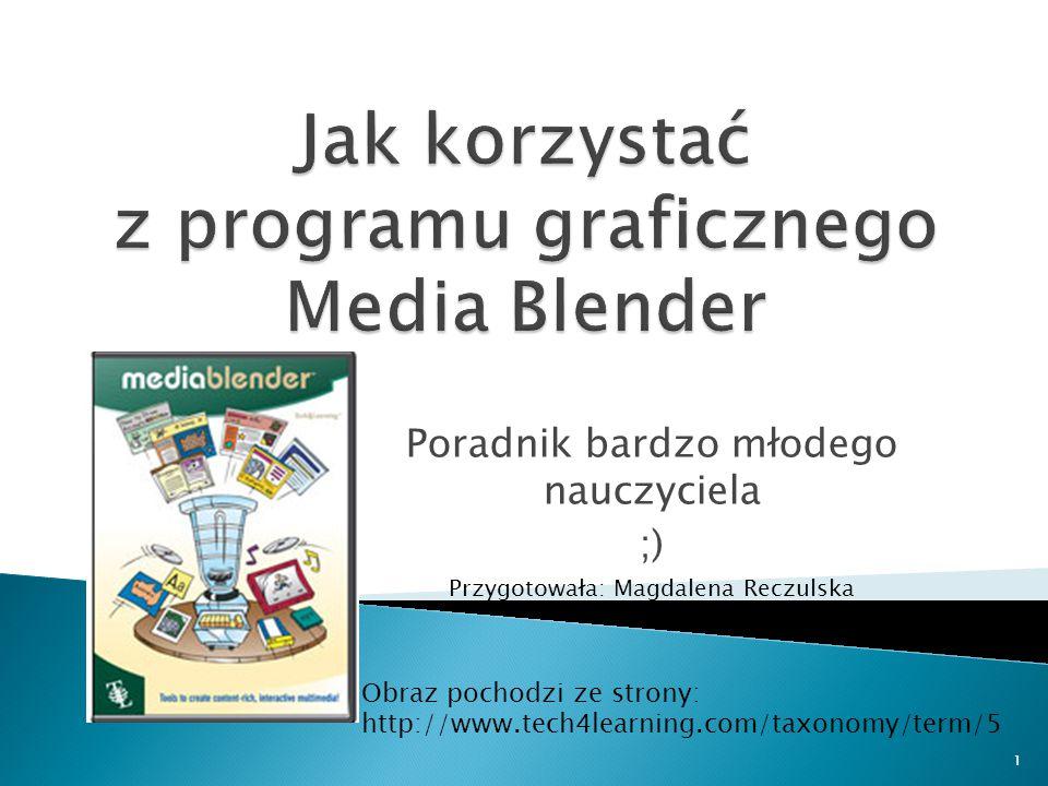 Jak korzystać z programu graficznego Media Blender