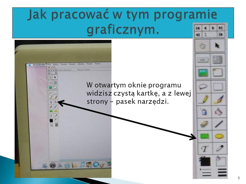 Jak pracować w tym programie graficznym.