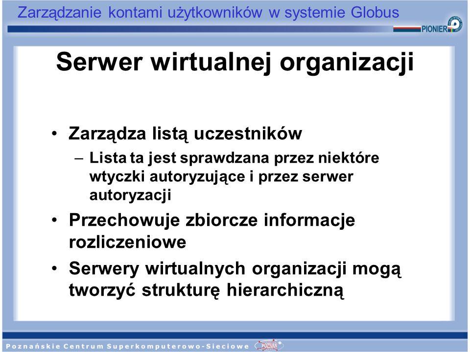 Serwer wirtualnej organizacji